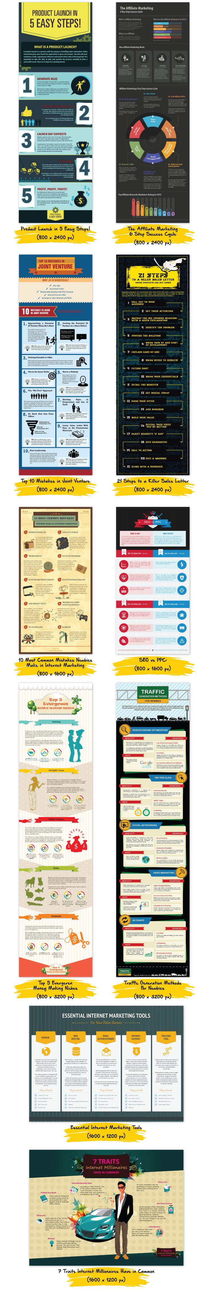 Infografias Marketing
